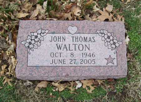 WALTON, JOHN THOMAS - Benton County, Arkansas | JOHN THOMAS WALTON - Arkansas Gravestone Photos