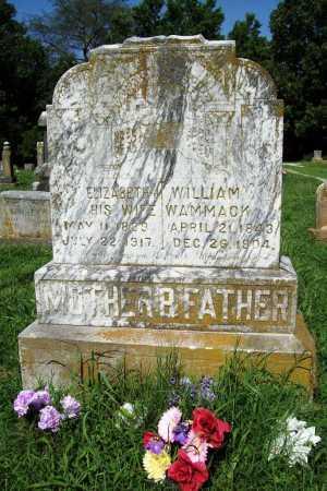 WAMMACK, ELIZABETH - Benton County, Arkansas | ELIZABETH WAMMACK - Arkansas Gravestone Photos