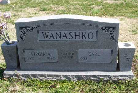 WANASHKO (VETERAN), CARL - Benton County, Arkansas | CARL WANASHKO (VETERAN) - Arkansas Gravestone Photos