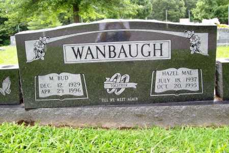 WANBAUGH, HAZEL MAE - Benton County, Arkansas | HAZEL MAE WANBAUGH - Arkansas Gravestone Photos