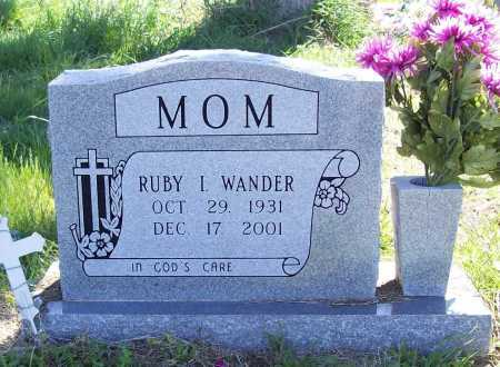 WANDER, RUBY I. - Benton County, Arkansas | RUBY I. WANDER - Arkansas Gravestone Photos