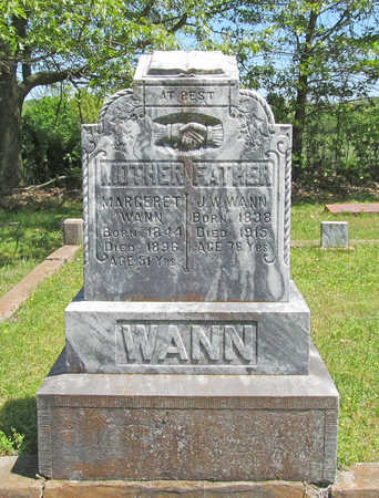 WANN, JOHN W - Benton County, Arkansas | JOHN W WANN - Arkansas Gravestone Photos