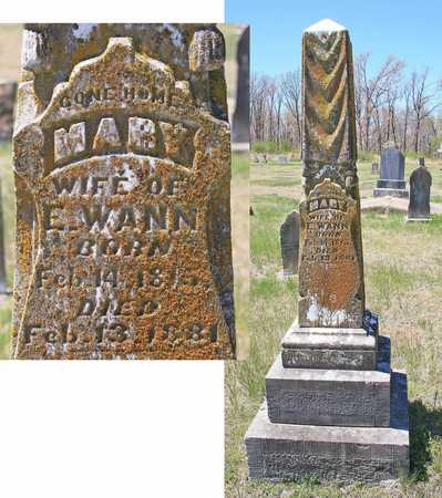 WANN, MARY - Benton County, Arkansas | MARY WANN - Arkansas Gravestone Photos