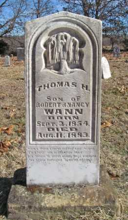 WANN, THOMAS H - Benton County, Arkansas | THOMAS H WANN - Arkansas Gravestone Photos