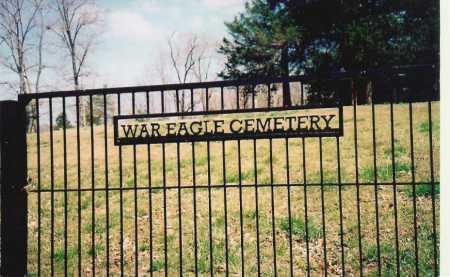 *WAR EAGLE CEMETERY,  - Benton County, Arkansas |  *WAR EAGLE CEMETERY - Arkansas Gravestone Photos