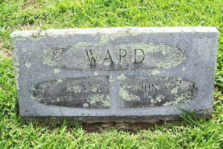 WARD, ANNA M. - Benton County, Arkansas | ANNA M. WARD - Arkansas Gravestone Photos