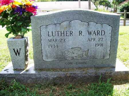 WARD, LUTHER R. - Benton County, Arkansas | LUTHER R. WARD - Arkansas Gravestone Photos