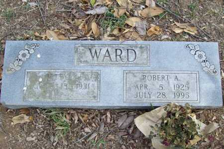 WARD, ROBERT ARNOLD - Benton County, Arkansas | ROBERT ARNOLD WARD - Arkansas Gravestone Photos