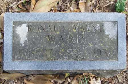WARD, RONALD WAYNE - Benton County, Arkansas | RONALD WAYNE WARD - Arkansas Gravestone Photos