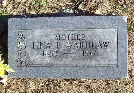 WARDLAW, LINA E. - Benton County, Arkansas | LINA E. WARDLAW - Arkansas Gravestone Photos