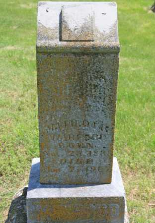 WARFORD, MATILDA R. - Benton County, Arkansas | MATILDA R. WARFORD - Arkansas Gravestone Photos