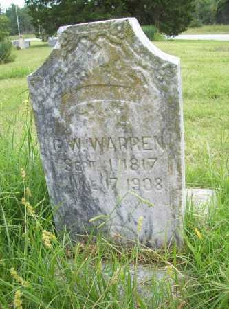 WARREN, G. W. - Benton County, Arkansas | G. W. WARREN - Arkansas Gravestone Photos