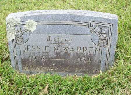 WARREN, JESSIE M. - Benton County, Arkansas   JESSIE M. WARREN - Arkansas Gravestone Photos
