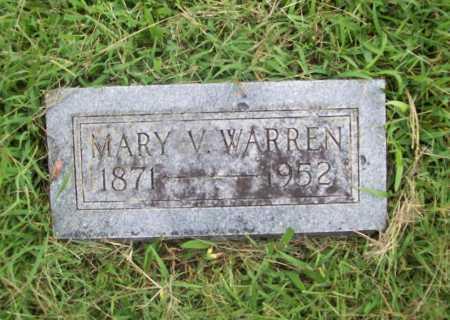 WARREN, MARY V. - Benton County, Arkansas | MARY V. WARREN - Arkansas Gravestone Photos