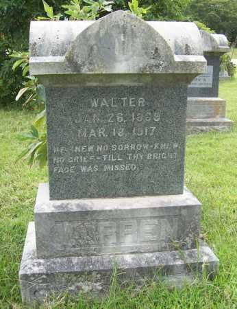 WARREN, WALTER - Benton County, Arkansas | WALTER WARREN - Arkansas Gravestone Photos