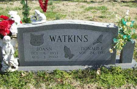PIERCE WATKINS, JOANN - Benton County, Arkansas | JOANN PIERCE WATKINS - Arkansas Gravestone Photos