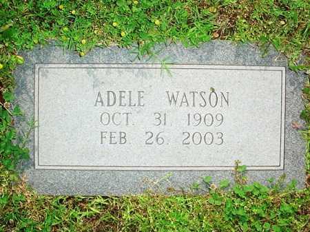 WATSON, ADELE - Benton County, Arkansas | ADELE WATSON - Arkansas Gravestone Photos