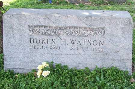 WATSON, DUKES H. - Benton County, Arkansas | DUKES H. WATSON - Arkansas Gravestone Photos