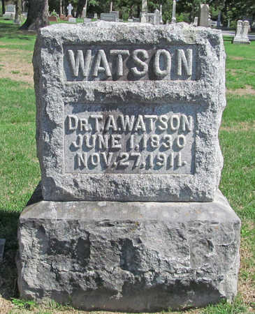 WATSON (VETERAN CSA), THOMAS ANDERSON - Benton County, Arkansas | THOMAS ANDERSON WATSON (VETERAN CSA) - Arkansas Gravestone Photos