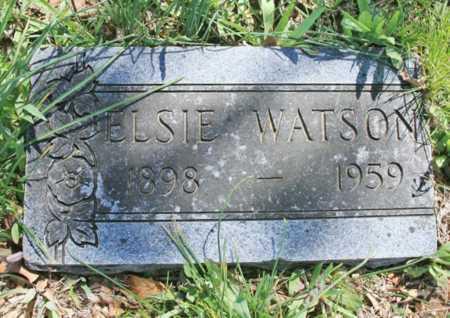 WATSON, ELSIE - Benton County, Arkansas | ELSIE WATSON - Arkansas Gravestone Photos