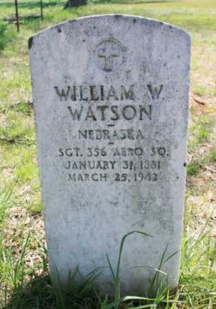 WATSON (VETERAN), WILLIAM W - Benton County, Arkansas | WILLIAM W WATSON (VETERAN) - Arkansas Gravestone Photos