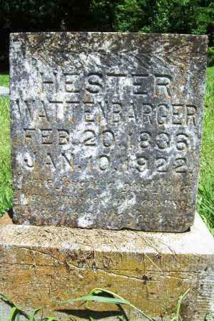 WATTENBARGER, HESTER - Benton County, Arkansas | HESTER WATTENBARGER - Arkansas Gravestone Photos