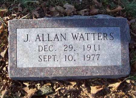 WATTERS, J. ALLAN - Benton County, Arkansas | J. ALLAN WATTERS - Arkansas Gravestone Photos