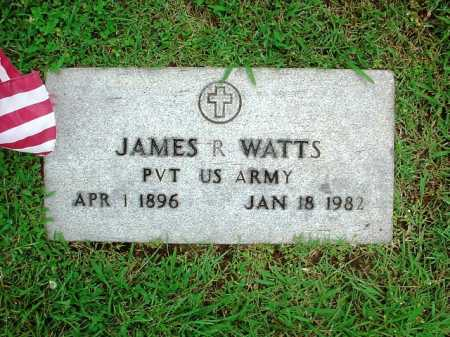 WATTS (VETERAN), JAMES R. - Benton County, Arkansas | JAMES R. WATTS (VETERAN) - Arkansas Gravestone Photos