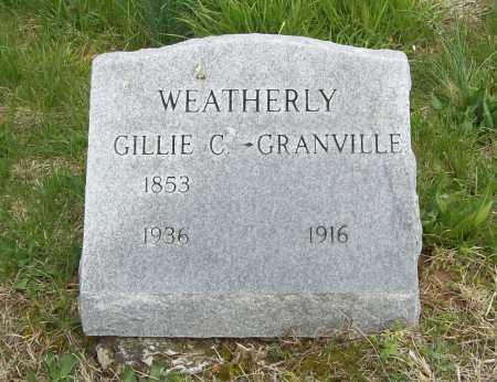 WEATHERLY, GRANVILLE - Benton County, Arkansas | GRANVILLE WEATHERLY - Arkansas Gravestone Photos