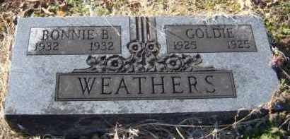 WEATHERS, GOLDIE - Benton County, Arkansas | GOLDIE WEATHERS - Arkansas Gravestone Photos