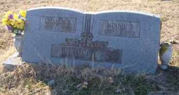 WEATHERS, MINNIE B. - Benton County, Arkansas | MINNIE B. WEATHERS - Arkansas Gravestone Photos