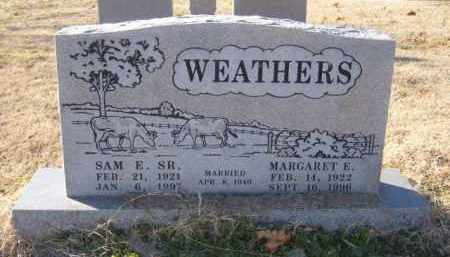 WEATHERS, SAM E. SR. - Benton County, Arkansas | SAM E. SR. WEATHERS - Arkansas Gravestone Photos