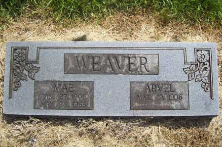 WEAVER, MAE - Benton County, Arkansas | MAE WEAVER - Arkansas Gravestone Photos