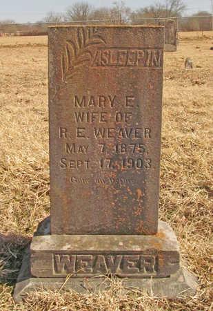 WEAVER, MARY E - Benton County, Arkansas | MARY E WEAVER - Arkansas Gravestone Photos