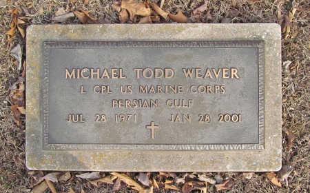 WEAVER (VETERAN PGW), MICHAEL TODD - Benton County, Arkansas   MICHAEL TODD WEAVER (VETERAN PGW) - Arkansas Gravestone Photos