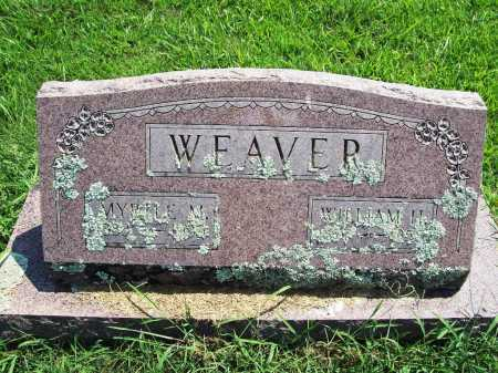 WEAVER, MYRTLE M. - Benton County, Arkansas | MYRTLE M. WEAVER - Arkansas Gravestone Photos