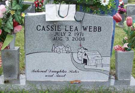 WEBB, CASSIE LEA - Benton County, Arkansas | CASSIE LEA WEBB - Arkansas Gravestone Photos
