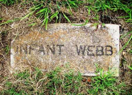 WEBB, INFANT - Benton County, Arkansas | INFANT WEBB - Arkansas Gravestone Photos