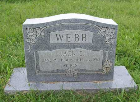 WEBB, JACK E. - Benton County, Arkansas | JACK E. WEBB - Arkansas Gravestone Photos