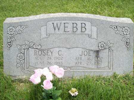 WEBB, JOE I. - Benton County, Arkansas | JOE I. WEBB - Arkansas Gravestone Photos