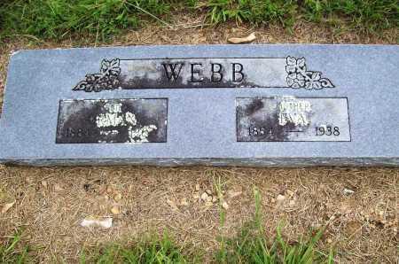 WEBB, EVA - Benton County, Arkansas | EVA WEBB - Arkansas Gravestone Photos