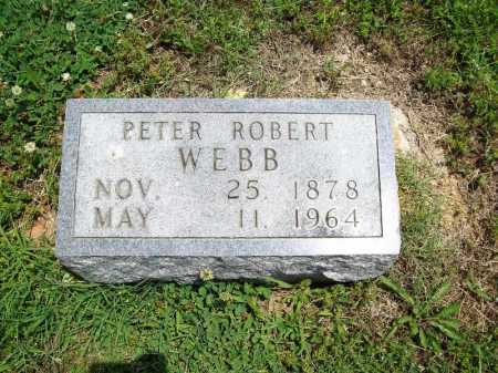 WEBB, PETER ROBERT - Benton County, Arkansas | PETER ROBERT WEBB - Arkansas Gravestone Photos