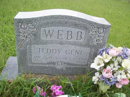 WEBB, TEDDY GENE - Benton County, Arkansas | TEDDY GENE WEBB - Arkansas Gravestone Photos