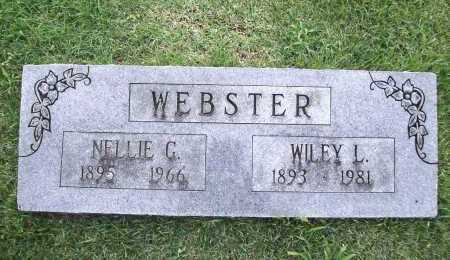 WEBSTER, NELLIE G. - Benton County, Arkansas | NELLIE G. WEBSTER - Arkansas Gravestone Photos