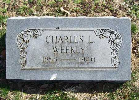 WEEKLY, CHARLES L. - Benton County, Arkansas | CHARLES L. WEEKLY - Arkansas Gravestone Photos