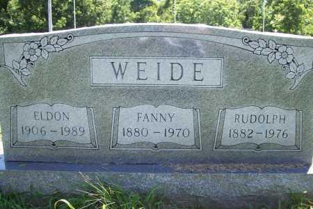 WEIDE, ELDON - Benton County, Arkansas | ELDON WEIDE - Arkansas Gravestone Photos