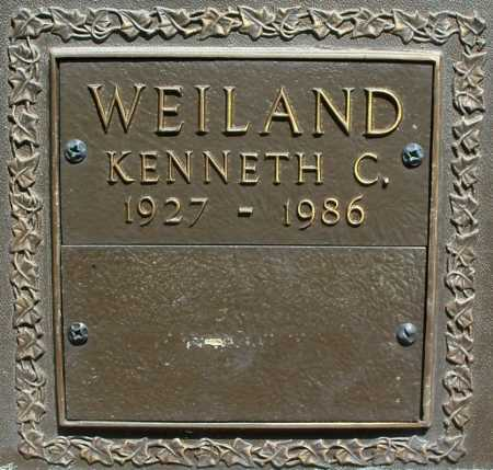 WEILAND, KENNETH C. - Benton County, Arkansas | KENNETH C. WEILAND - Arkansas Gravestone Photos