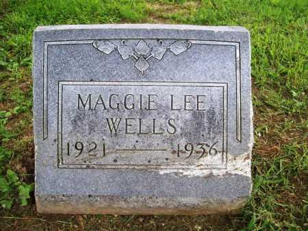 WELLS, MAGGIE LEE - Benton County, Arkansas | MAGGIE LEE WELLS - Arkansas Gravestone Photos