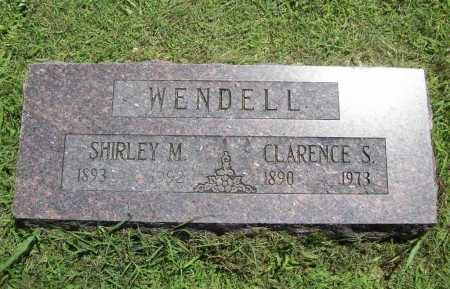 WENDELL, SHIRLEY M. - Benton County, Arkansas | SHIRLEY M. WENDELL - Arkansas Gravestone Photos