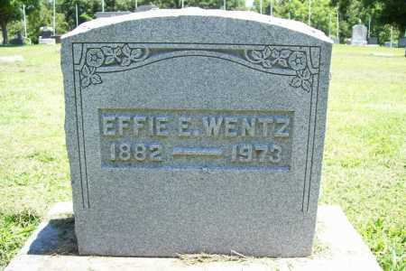 WENTZ, EFFIE E. - Benton County, Arkansas | EFFIE E. WENTZ - Arkansas Gravestone Photos